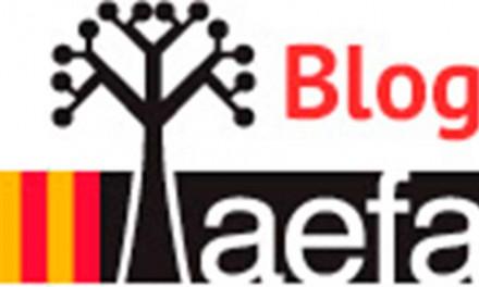 Nuevo blog de AEFA