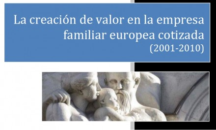 Informe Banca March‐IE Business School sobre la empresa familiar.